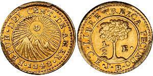 1/2 Escudo Guatemala / République fédérale d