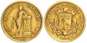 1/2 Escudo Costa Rica Oro