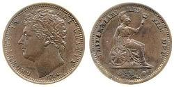 1/2 Farthing United Kingdom of Great Britain and Ireland (1801-1922) Copper George IV (1762-1830)