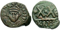 1/2 Follis Byzantinisches Reich (330-1453) Bronze Herakleios (575-641)