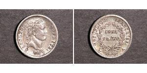 1/2 Franc 法兰西第一帝国 (1804 - 1814) 銀 拿破仑一世(1769 - 1821)