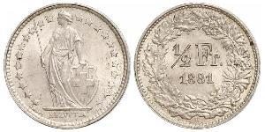1/2 Franc Suisse Cuivre/Nickel