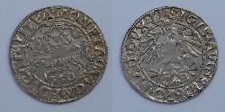 1/2 Groschen Granducato di Lituania (1236 - 1791) Argento Sigismondo II Augusto (1548 - 1569)