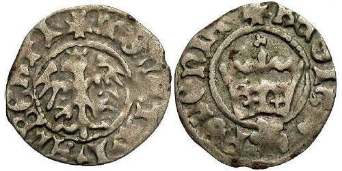 1/2 Grosh Kingdom of Poland (1025-1569) Silber Johann I. Albrecht (1459-1501)