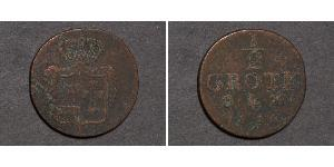 1/2 Grote States of Germany Copper