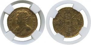 1/2 Guinea Kingdom of Great Britain (1707-1801) Gold Anne, Queen of Great Britain (1665-1714)