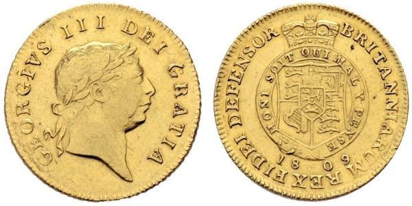 1/2 Guinea United Kingdom of Great Britain and Ireland (1801-1922) Gold George III (1738-1820)