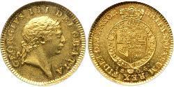 1/2 Guinea Vereinigtes Königreich von Großbritannien und Irland (1801-1922) Gold Georg III (1738-1820)
