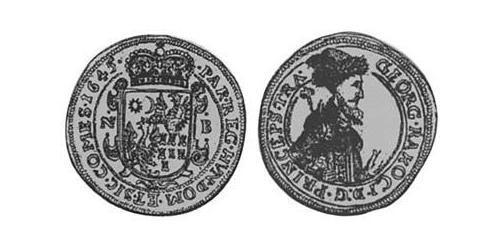 1/2 Gulden Principality of Transylvania (1571-1711) Argent