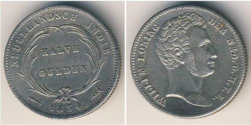 1/2 Gulden  Argent