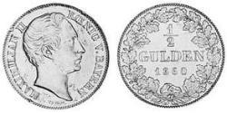 1/2 Gulden Kingdom of Bavaria (1806 - 1918) Silver