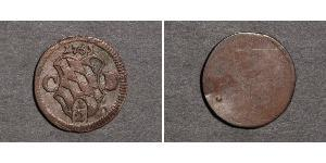 1/2 Kreuzer Electorate of Bavaria (1623 - 1806) 銀 Maximilian III Joseph, Elector of Bavaria (1727 – 1777)