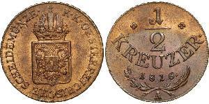 1/2 Kreuzer Imperio austríaco (1804-1867)  Francis II, Holy Roman Emperor (1768 - 1835)