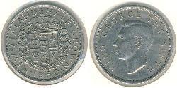 1/2 Krone New Zealand Copper/Nickel