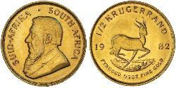 1/2 Krugerrand South Africa 金