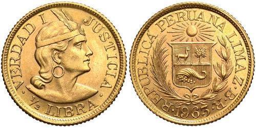 1/2 Libra Perú Oro