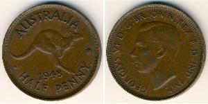 1/2 Penny Australia (1939 - ) Bronze