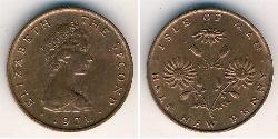 1/2 Penny Isle of Man Bronze Elizabeth II (1926-)