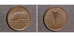 1/2 Penny Irlanda (1922 - ) Bronzo