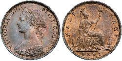 1/2 Penny United Kingdom Copper Victoria (1819 - 1901)