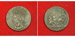 1/2 Penny Barbados Kupfer
