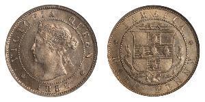 1/2 Penny Jamaika (1962 - ) Kupfer/Nickel Victoria (1819 - 1901)
