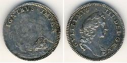 1/2 Penny United Kingdom Silver