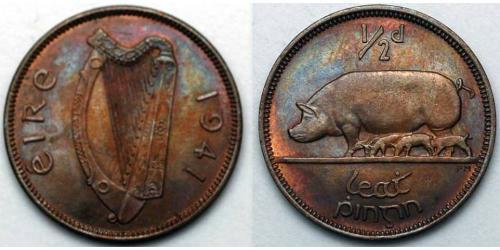 1/2 Penny Irlanda (1922 - )