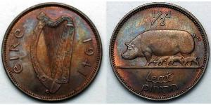 1/2 Penny Irlande (1922 - )