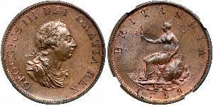 1/2 Penny United Kingdom of Great Britain and Ireland (1801-1922)  George III (1738-1820)