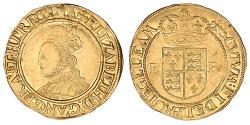 1/2 Pound Königreich England (927-1649,1660-1707) Gold Elizabeth I (1533-1603)