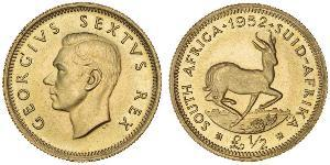 1/2 Pound Südafrika Gold Georg VI (1895-1952)