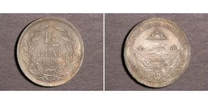 1/2 Real Honduras Kupfer/Nickel