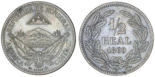 1/2 Real Honduras Níquel/Cobre