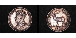 1/2 Rupee Maurice Argent George V (1865-1936)