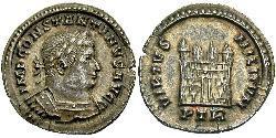 1/2 Siliqua Römische Kaiserzeit (27BC-395) Silber Konstantin I (272 - 337)