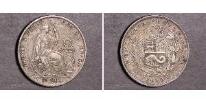 1/2 Sol Peru Silver