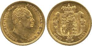 1/2 Sovereign United Kingdom of Great Britain and Ireland (1801-1922) Gold William IV (1765-1837)