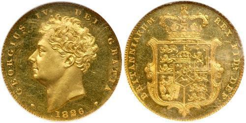 1/2 Sovereign United Kingdom of Great Britain and Ireland (1801-1922) Gold George IV (1762-1830)