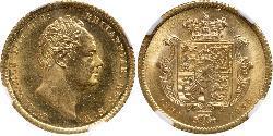 1/2 Sovereign Vereinigtes Königreich von Großbritannien und Irland (1801-1922) Gold Wilhelm IV (1765-1837)