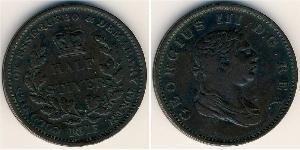 1/2 Stiver United Kingdom of Great Britain and Ireland (1801-1922) Copper George III (1738-1820)