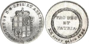 1/2 Thaler States of Germany Argent