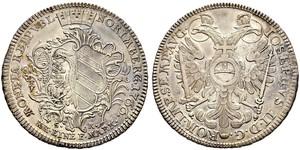 1/2 Thaler Free Imperial City of Nuremberg (1219 - 1806) Argento