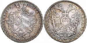 1/2 Thaler Free Imperial City of Nuremberg (1219 - 1806) Plata
