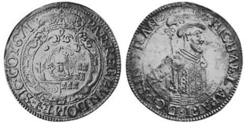 1/2 Thaler Principality of Transylvania (1571-1711) Plata