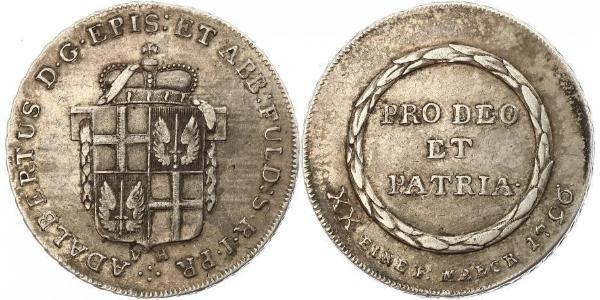 1/2 Thaler States of Germany Plata