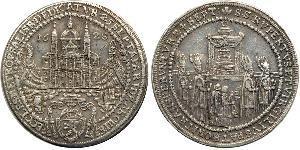 1/2 Thaler Österreich Silber