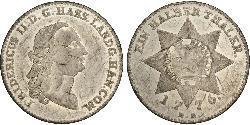1/2 Thaler Deutschland Silber