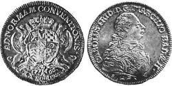 1/2 Thaler Markgrafschaft Baden-Durlach (1535 - 1771) Silber