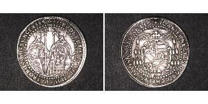 1/2 Thaler Salzburg Silber